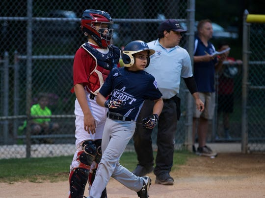 Lincroft vs  Manalapan in District 19 Little League tournament in Eatontown, NJ on July 6, 2017.