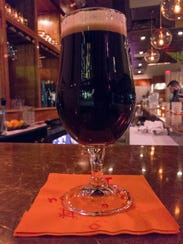 A glass of Henniker coffee stout provided the perfect