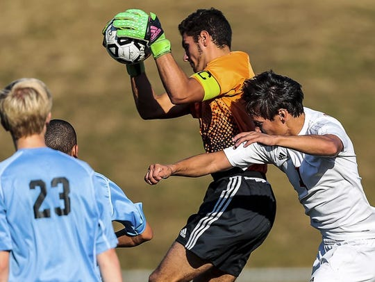Mahwah goalkeeper Michael Kayal will continue his career