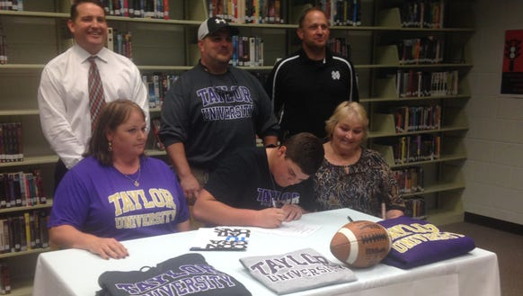 North Buncombe senior Austin Ponder has signed to play