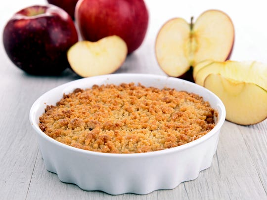 An apple Brown Betty, apple crumble or apple pie are perfect treats to enjoy nature's fall bounty.