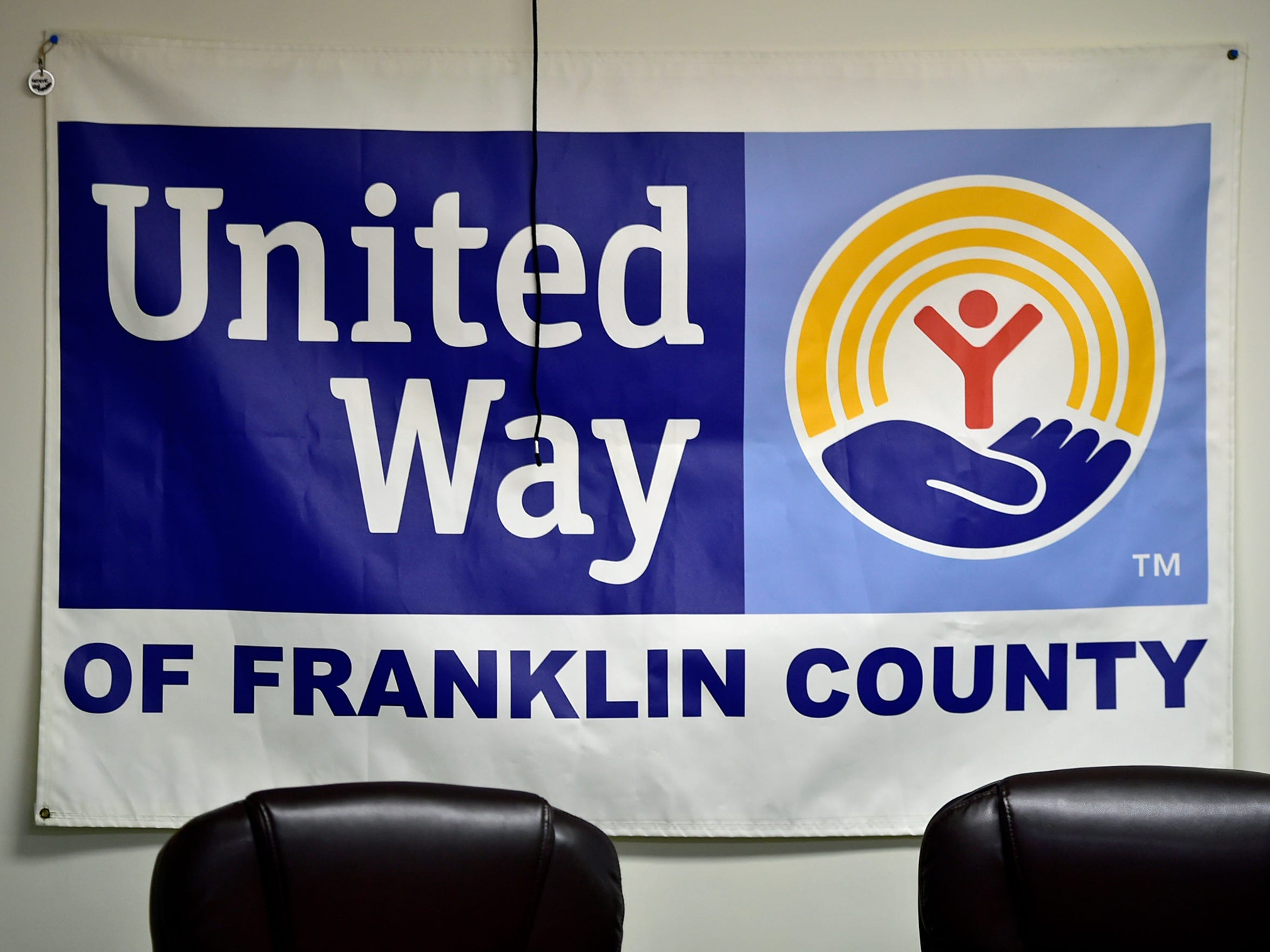 The Franklin County United Way hosts the Stepping Forward Works class on Tuesday, May 16, 2017 at its Second Street offices. Students learn to complete resumes and to attend job interviews.