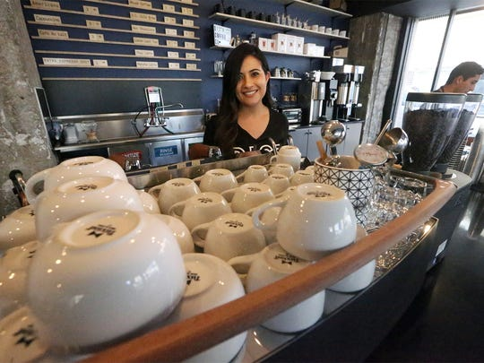 Pamela Azaeta is owner of District Coffee Co., which