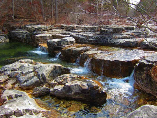 Hercules Glade Wilderness area, just a few miles south