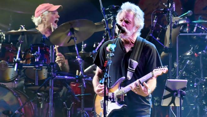 Bill Kreutzman, Bob Weir and the rest of Dead & Company will perform Wednesday at Bridgestone Arena.