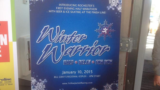 Winter Warrior race sign