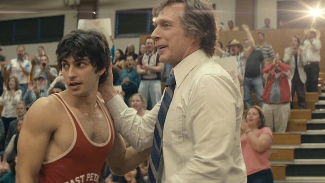 """George Kostruos (left), a Palm Desert High graduate, is the star of the upcoming movie """"American Wrestler: The Wizard."""""""
