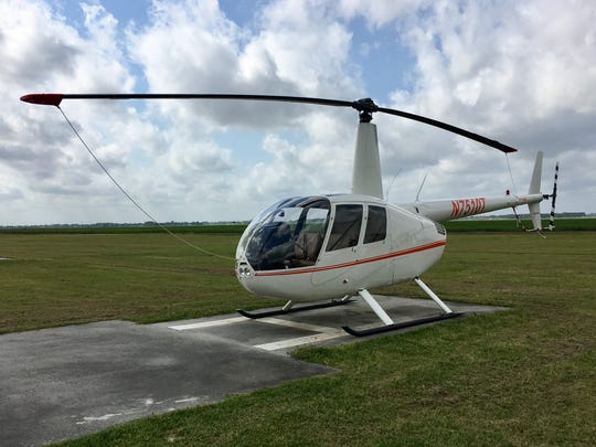 South Louisiana Community College has a fleet of helicopters at its flight school in New Iberia.