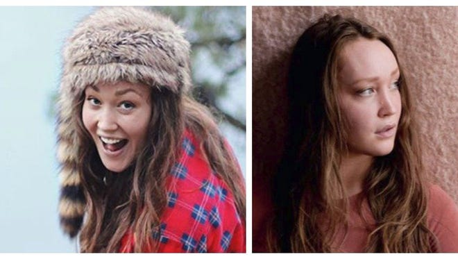 This pair of undated photos released by the Portland, Ore., Police Bureau shows Anna Schmidt, the daughter of one of the men in the Utah-based music group The Piano Guys, as they seek the public's help in locating her. Schmidt has been reported missing and may have gotten injured or lost on a hike in the Columbia River Gorge in Oregon, authorities say. She was last seen Sunday, Oct. 16, 2016, and was reported missing Wednesday, Portland police Sgt. Pete Simpson said.