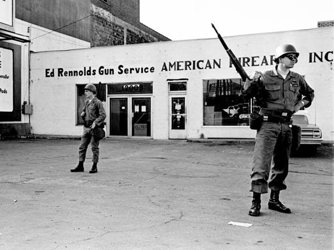 Nashville Then: 1968 Civil Rights Movement in Nashville