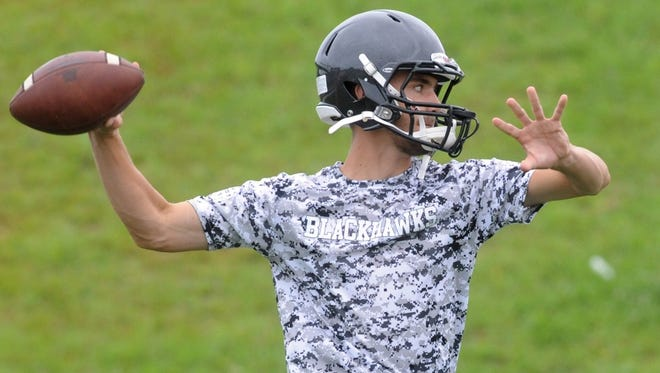 North Buncombe quarterback Chase Parker