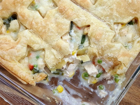 Chicken Puff Pastry Pot Pie is one of Cream City Casseroles' more ...