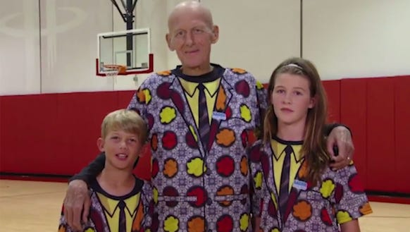 Craig Sager and his family thanked everyone at the