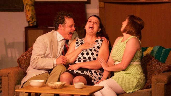 "The Lauren Reilly Eliot Company holds a benefit performance of ""The Odd Couple"" Thursday."