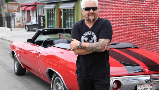 "Flamboyant restaurateur Guy Fieri starts off his latest season of 'Diners, Drive-Ins and Dives,' at a deli in Portsmouth, N.H., before traveling on to Koreatown in Los Angeles, and a ""world-class"" bagel shop in Plainsboro, N.J. Watch Fridays at 9 p.m. on Food Network."