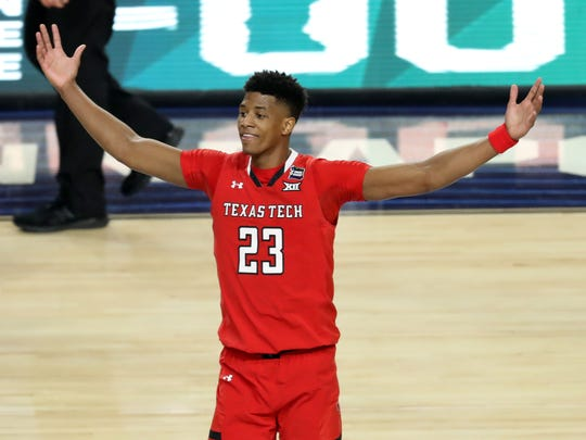 Former Texas Tech wing Jarrett Culver worked out for the New York Knicks on Wednesday.