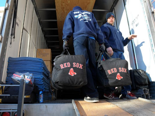 MLB: Boston Red Sox-Spring Training Send Off