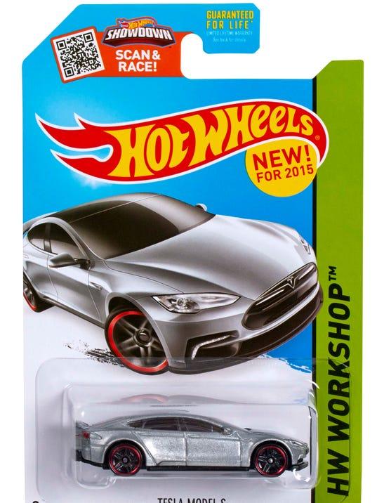 Hot Wheels unveils Tesla Model S toy