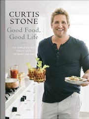 """The cover to the book """"Good Food, Good Life"""" by Curtis Stone."""