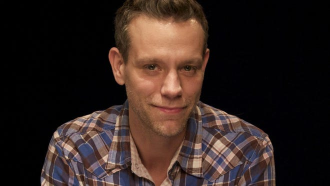 "Adam Pascal, seen in 2011, takes over the role of William Shakespeare in ""Something Rotten!"" Nov. 7 and will play the role until the show's final Broadway performance on Jan. 1."