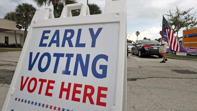 A voting location in Daytona Beach in 2018.