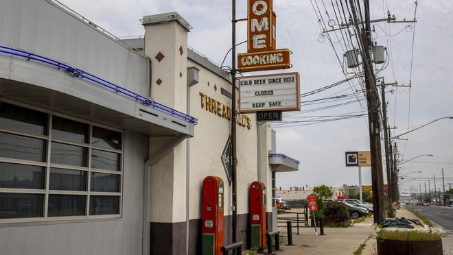 A closed sign is on Threadgill's Old No. 1 on Tuesday April 21, 2020.  The restaurant is closing permanently due to the coronavirus pandemic.