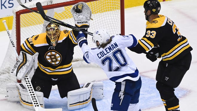 The Bruins will be the No. 3 seed in the Stanley Cup playoffs with a win of any kind over the Capitals on Sunday.