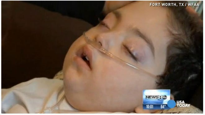 Abdallah Khader was seriously injured in a crash Feb. 20, 2009, when Stewart Richardson, whose blood alcohol level was three times the legal limit, hit the car he was riding in. Abdallah will be 7 in two months.