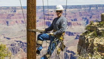 APS local representative Kevin Hartigan is responsible for the power needs for Grand Canyon National Park.