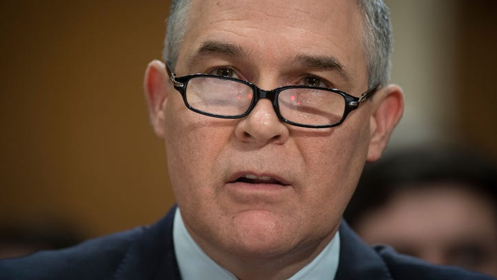 EPA Administrator Scott Pruitt's ethical challenges piling up; many involve lavish spending