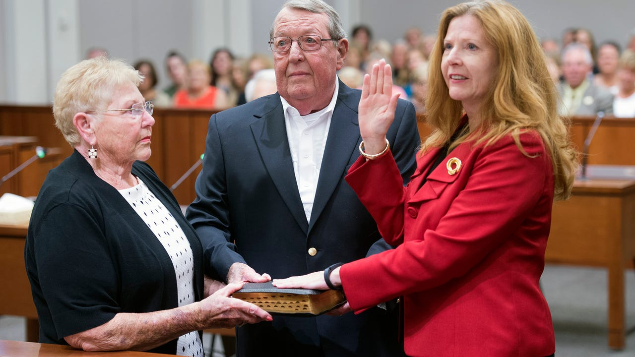 A statement by Judge Kathneen Predergast after she was sworn in as a York County judge.