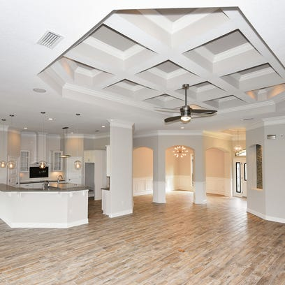 2643 Holley Club Drive, the open floor plan is highly