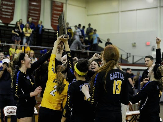 Castle volleyball