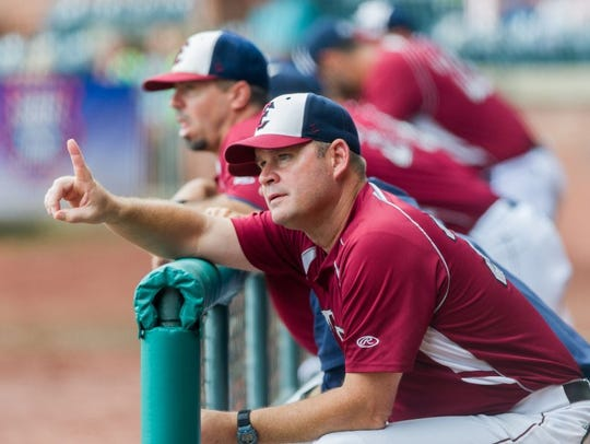 Manager Andy McCauley hopes to guide the Evansville Otters to another Frontier League playoff berth