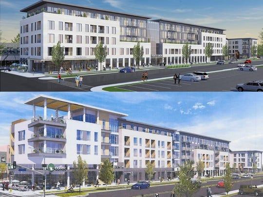 An updated design of the Christa-Morgan development