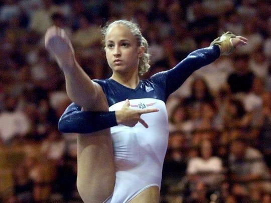U.S. Olympic team member Alyssa Beckerman of Middletown