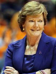 Lady Vols coach Pat Summitt.