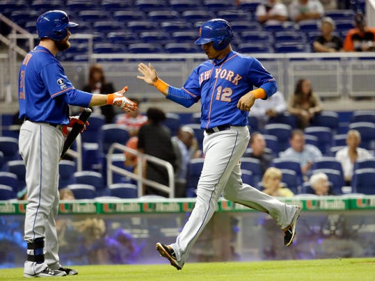 Mets Marlins Baseball (2)