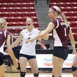 ULM (11-7, 2-2 SBC) fell in straight sets (25-16, 25-18, 25-15) Sunday afternoon to 23rd-ranked Arkansas State (15-1, 6-0 SBC).