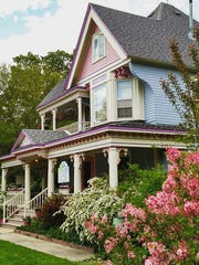 The peaceful Blue Belle Inn in St. Ansgar marked the