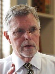 Oakland University President George Hynd