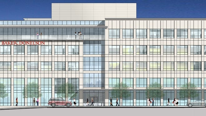 One Eastover Center will eventually be home to Baker Donelson lawfirm.
