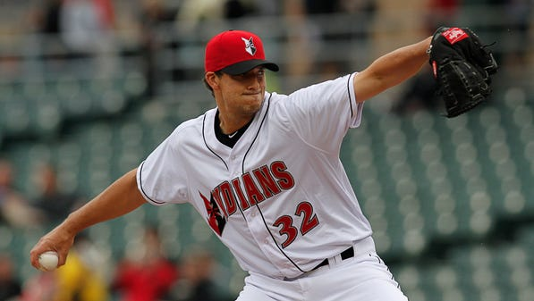 Indianapolis Indians  pitcher Charlie Morton