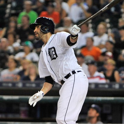 The Tigers' plan counts on J.D. Martinez duplicating