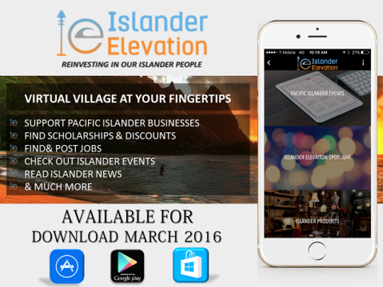 The Islander Elevation App connects islanders to find events, businesses and more run by islanders.