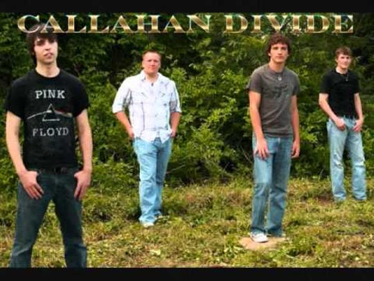 Country band Callahan Divide will perform from 8:30