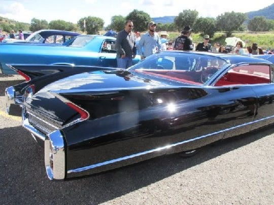 The bigger the fins the better was Cadillac's motto in the 1960s