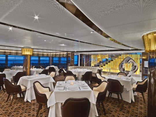 The Grill by Thomas Keller on the Seabourn Encore.