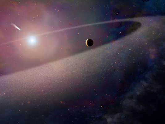 Halley's comet? Nope. New discovery is 100,000 times bigger
