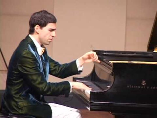 Pianist Yoni Levyatov
